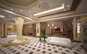 The interiors of the hotel entrance in Pyatigorsk, Stavropol region, Russia